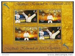 2012 Kosovo Mi. Bl.  22 ** MNH  Olympische Sommerspiele, London.