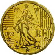 France, 20 Euro Cent, 2002, BE, Laiton, KM:1286 - Frankrijk