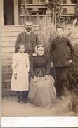 Portrait De La Famille Cathala Amis De La Famille Ourmet - Carcassonne - Personnes Identifiées