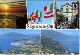 SANT' AGATA SUI DUE GOLFI   MASSA LUBRENSE  NAPOLI   Vedutine - Napoli