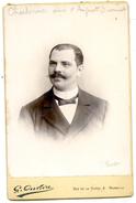 Portrait De Mr Charbonnier, Ami D'Auguste  Ourmet - Carcassonne - Photo Oulière; Marseille - Personnes Identifiées