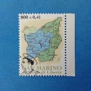2000 SAN MARINO FRANCOBOLLO USATO STAMP USED - Fondazione Repubblica Territorio 0,41- - San Marino