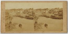 PYRENEES ATLANTIQUES : BIARRITZ Le Port Vieux PHOTO STÉRÉOSCOPIQUE STEREO STEREOVIEW - Stereoscopic