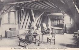 Brugge, Bruges, Hôtel Gruuthuse, Comble, Chambres De Domestiques (pk36175) - Brugge