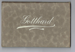 Gotthard - 12x Postkarten - Cartes Postales