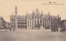 Brugge, Bruges, Hôtel Du Gouvernement Provincial Et La Poste (pk36179) - Brugge