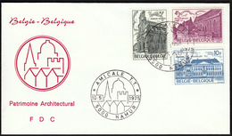 Belgium 1975 / Architecture / European Architectural Heritage Year