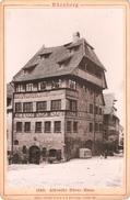 Photo Sur Carton Foto Op Hard Karton (11 X 16 Cm) Nürnberg Albrecht Dürer-Haus - Nuernberg