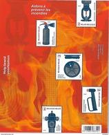 Belg. 2017 - COB N° 248 ** - Sauvé Des Flammes (Prévention Incendie) - Timbres 4677 à 4681 - Belgio