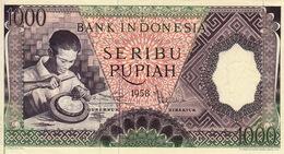 * INDONESIA 1000 RUPIAH 1958 P-62 [ID524a] - Indonesien