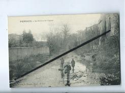 CPA Souple - Pepieux  - La Rivière De L'Ognon - Autres Communes