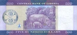 LIBERIA P. NEW 500 D 2016 UNC - Liberia