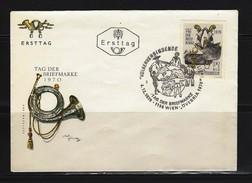 ÖSTERREICH - FDC Mi-Nr. 1350 Tag Der Briefmarke - Stempel WIEN (10) - FDC