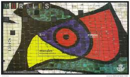 2015-ED. 5001 H.B. Patrimonio Artístico. Murales, Joan Miro -NUEVO