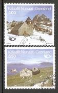 004164 Greenland 1993 Churches Set FU - Greenland