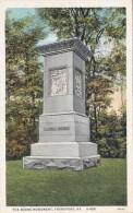 Kentucky Frankfort The Boone Monument Curteich
