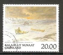 004167 Greenland 1999 Art 20K FU - Greenland