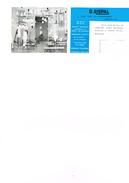 Lustrerie  Luminaire - G.Rispal Paris Style Carter De Visite Souple à Deux Volets Faire Bonne Acceuil à Notre Client - Publicités