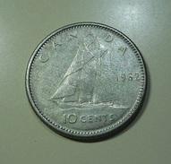 Canada 10 Cents 1962 Silver - Canada