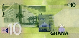 GHANA P. 39f 10 C 2015 UNC - Ghana