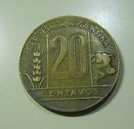 Argentina 20 Centavos 1949 - Argentine