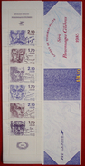 SUPERBE BANDE CARNET BC 2360A LES ECRIVAINS De 1985 NEUVE** Cote 25 Euro - Booklets