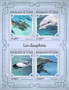 GUINEA 2017 - Dolphins. Official Issue - Dolfijnen
