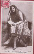 New Zealand Maori Dancer 1911 Nouvelle Zelande Nieuw Zeeland Femme Girl Lady Beauty Beaute Traditional Danseuse - Nieuw-Zeeland