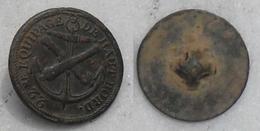 Marine Premier Empire 1810-1814 Bouton De Cannonier Du 22ème Equipage De Haut-bord 22mm