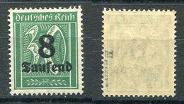 Deutsches Reich Michel-Nr. 278 Plattenfehler IV Ungebraucht - Geprüft