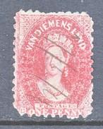 TASMANIA  23  Perf 10  (o)   (VAN DIEMENSLAND) - 1853-1912 Tasmania