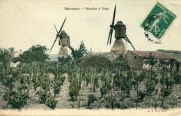 SAUMUR - Moulins à Vent (date 1910) - Saumur