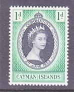 CAYMAN  ISLANDS  150 *   Q.E. II  CORONATION - Cayman Islands