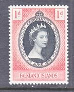 FALKLAND ISLANDS  121   *   Q.E. II  CORONATION  1953 - Falkland Islands