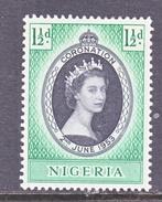 NIGERIA  79   *   Q.E. II  CORONATION  1953 - Nigeria (...-1960)