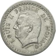 Monaco, Louis II, 2 Francs, 1943, TTB, Aluminium, KM:121, Gadoury:MC 133 - Monaco