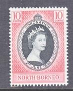 NORTH  BORNEO  260   *   Q.E. II  CORONATION  1953 - North Borneo (...-1963)