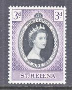 ST. HELENA  ISLAND  139   *   Q.E. II  CORONATION  1953 - Saint Helena Island