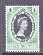 ST. VINCENT  185   *   Q.E. II  CORONATION  1953 - St.Vincent (...-1979)