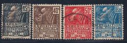 France, Scott # 258-61 Used French Colonials, 1930-1