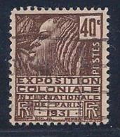 France, Scott # 259 Used Fachi Woman, 1930