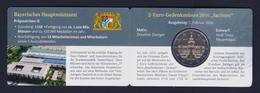 """2016 GERMANIA """"SACHSEN"""" 2 EURO COMMEMORATIVO FDC (COINCARD ZECCA D) - Germania"""