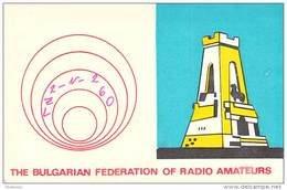 Amateur Radio Contact SWL Card From LZ2-N-260 In Bulgaria - 1975 - 2 Scans - Radio Amateur