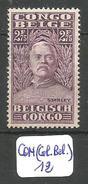 CON(COL.BEL.) COB 145 X - Belgisch-Kongo