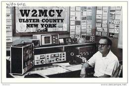 Amateur Radio QSL - W2MCY - Saugerties, NY -USA- 1977 - 2 Scans