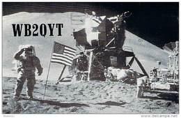 Amateur Radio QSL - WB2QYT - Belle Mead, NJ -USA- 1977 - 2 Scans