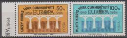 CYPRUS - 1984 Europa Pair. Scott 143a. MNH