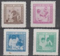 COSTA RICA - 1964 Postal Tax. Scott RA20-23. MNH - Costa Rica