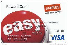 Staples Reward Card