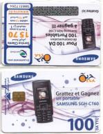 Algérie Télécarte Oria SAMSUNG Téléphone Mobile Neuve Sous Blister - Algeria